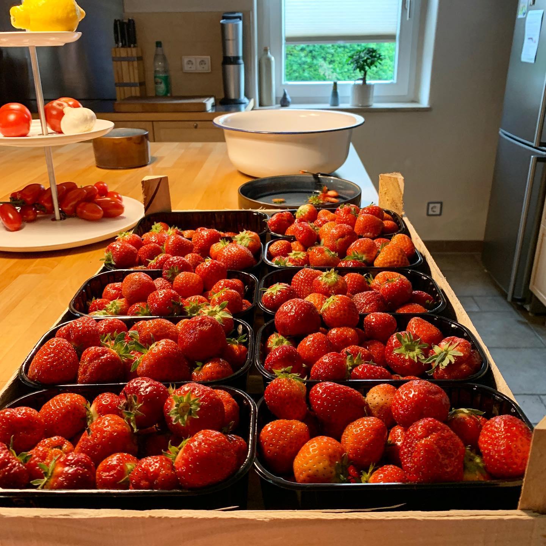 Jam factory. #yummieformytummy #strawberry #nomnom