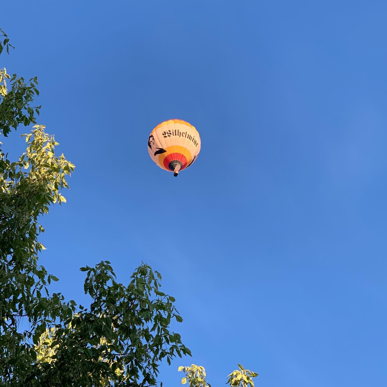 Wilhelmine #hotairballoon #wilhelmine